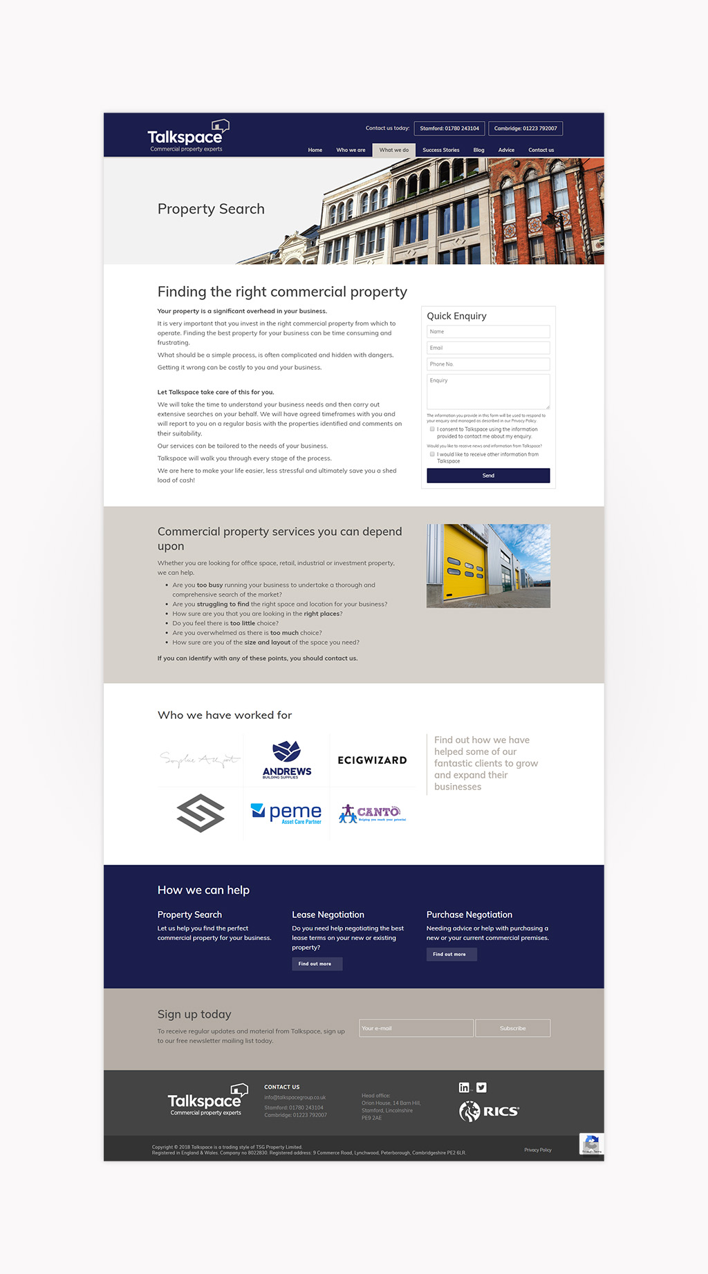 talkspace-website-property-search